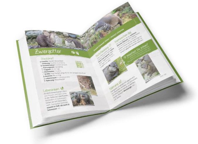 Beispiel Wildpark-Buch