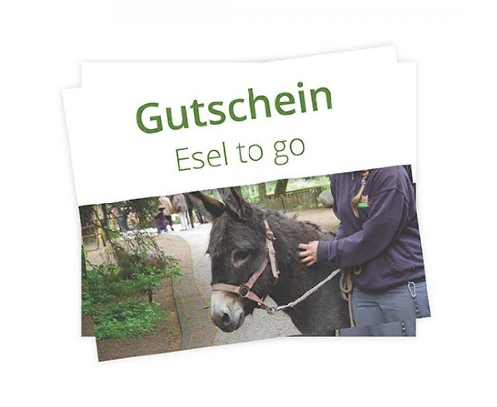 Gutschein Esel to go